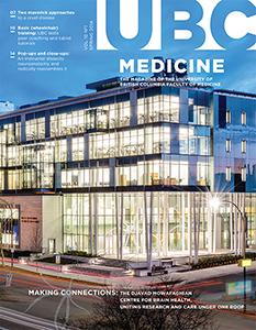UBC Medicine Spring 2014 cover magzine page
