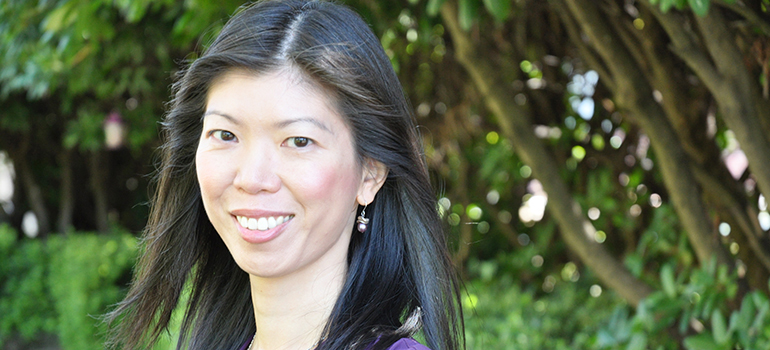 Whether it's a debate on assisted suicide, in vitro fertilization or private healthcare, Anita Ho is on many journalists' Rolodex to call for comments on medical ethics. Photo: Dave Lefebvre, Providence Health Care