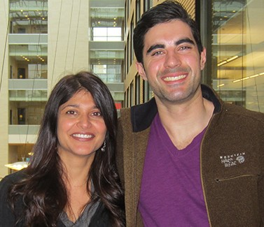 UBC's Shernaz Bamji and Stefano Brigidi have discovered how brain cells change during learning and memories.