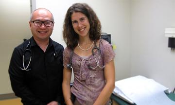 Dr. Roger Wong and Dr. Spencer