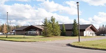 The Mackenzie District Hospital and Health Centre. Photo by Tanya Peterson
