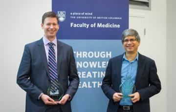 Drs. Timothy Kieffer and Lakshmi Yatham