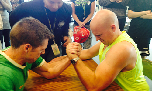 Cardiology residents and attendings go head-to-head at last year's fitness challenge.
