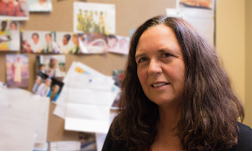 UBC Midwifery Instructor Cathy Ellis has led the Citizens for Global Midwifery Program for the past decade.