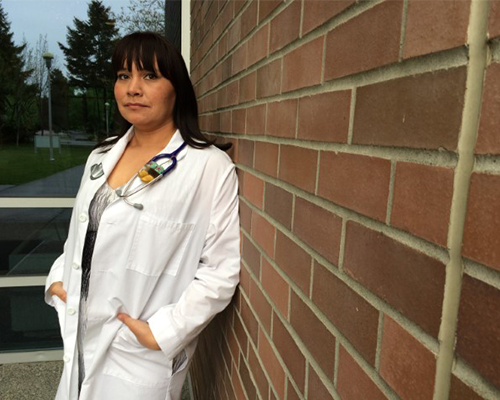 UBC MD student Lee-Anna Huisman.  Photo credit: Eryn Rizzoli
