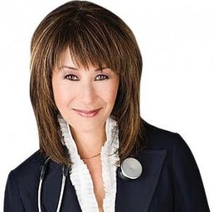 Event moderator, Dr. Rhonda Low.