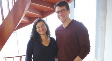 Dr. Janessa Laskin and Dr. Marco Marra