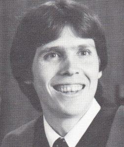 Michael Allard's UBC medical graduation photo.