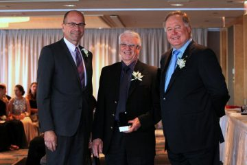 David Fairholm receives the Doctors of BC Silver Medal of Service
