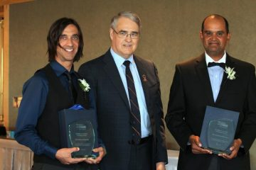 Dr. Derek Poteryko receives the Council on Health Promotion Awards of Excellence - Individual Category