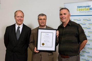 Bobby-Miller-Teaching-Award—-Dr.-Marshall-Dahl-and-Dr.-Jeremy-Road-with-award-winner-Dr.-Frank-Ryan