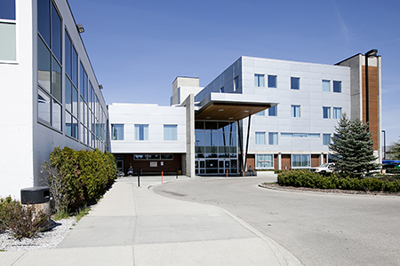 MPT students conducted the feasibility study at University Hospital of Northern British Columbia (UHNBC) in Prince George.