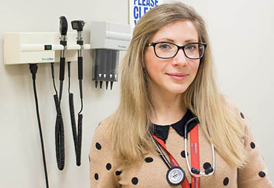 Kateryna Vostretsova is one of 43 residents recently matched to UBC subspecialty residency positions as part of the annual Canadian Resident Matching Service Medicine Subspecialty Match.