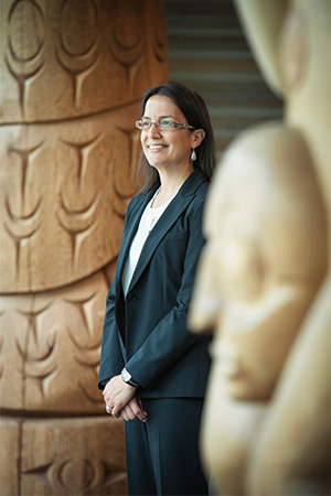 Nadine Caron, co-director of the Faculty of Medicine's Centre for Excellence in Indigenous Health (CEIH).