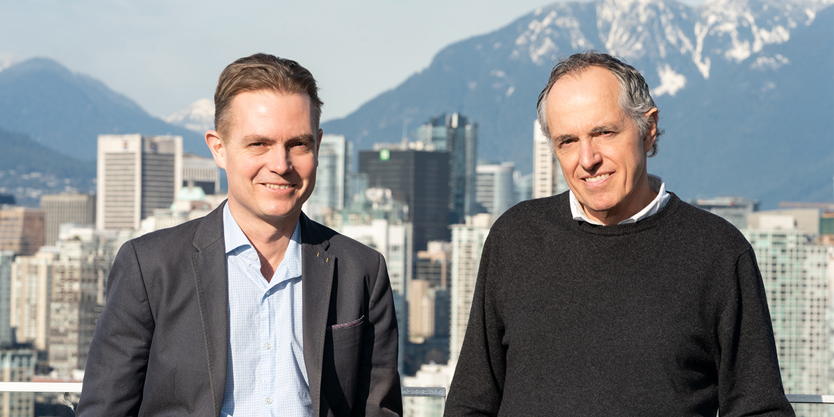 Dr. Mads Daugaard (left) and Dr. Poul Sorensen